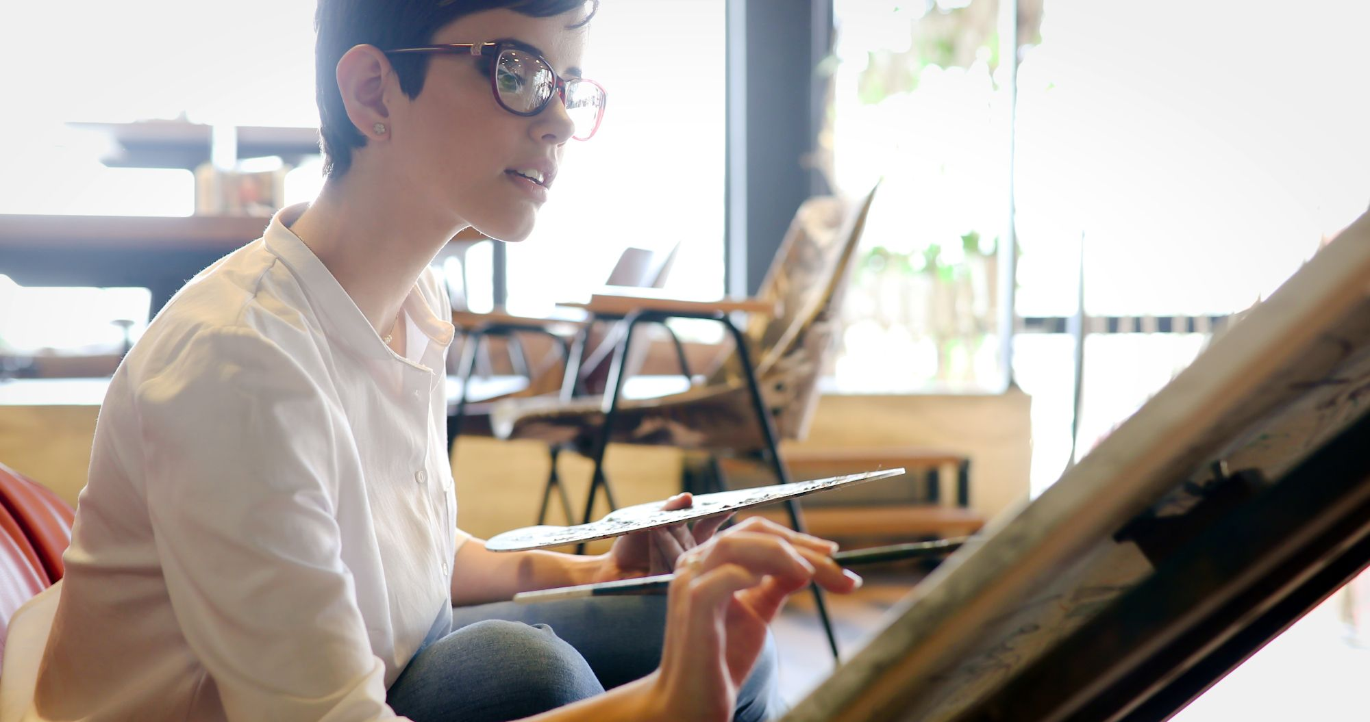 Hengitys taiteilijan työssä