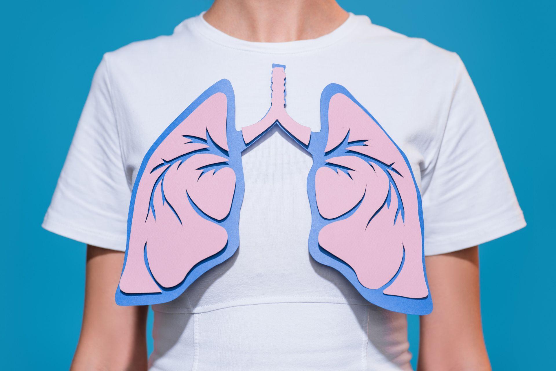 Ilma kulkee keuhkoissa pienissä hengitystiehyeissä